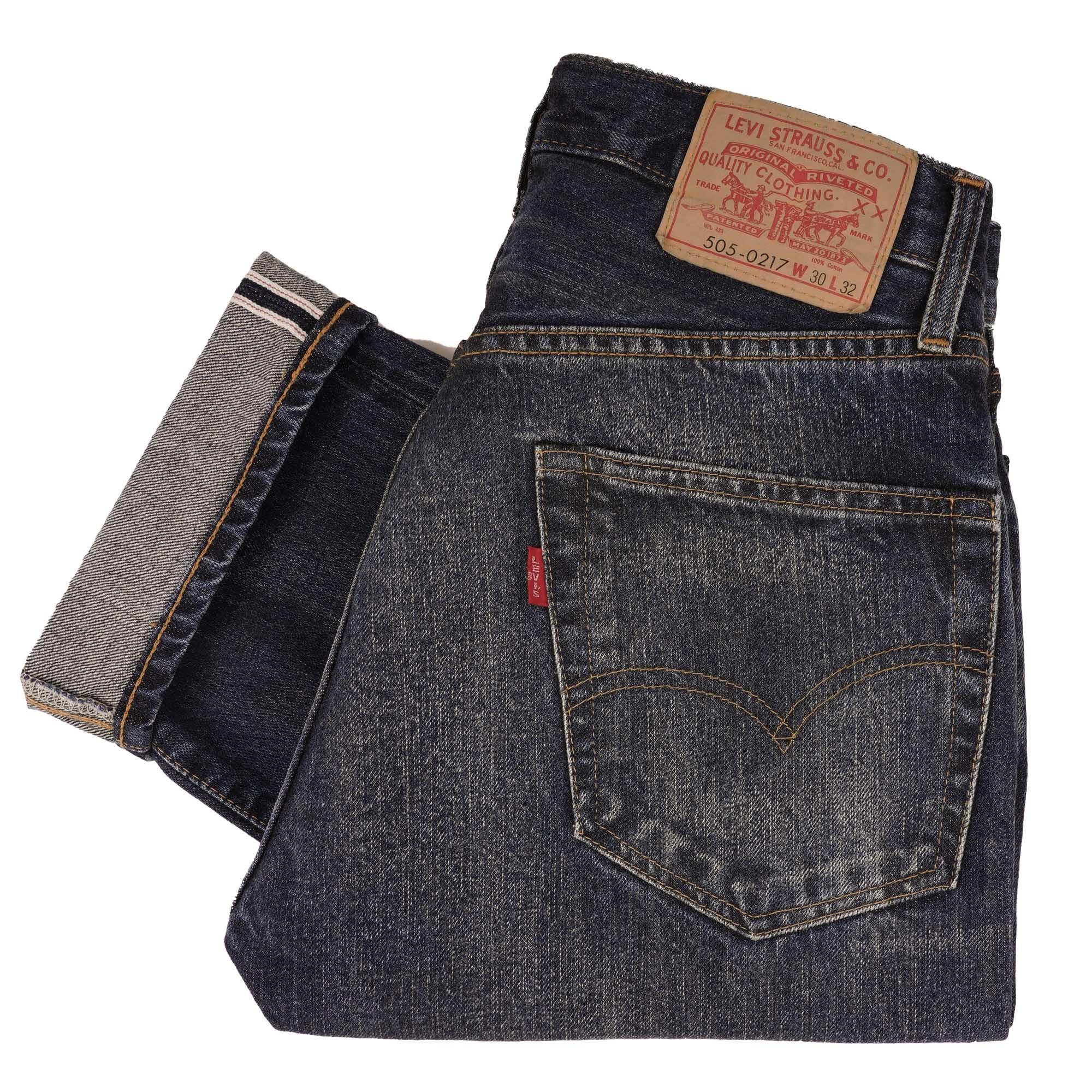 8d1f4fafea1 Levi's Vintage 1967 505 Selvedge Jeans | Cosmos | US Stockists