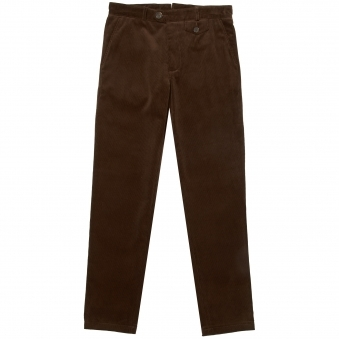 50th Anniversary Chocolate Corduroy Fishtail Trousers