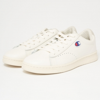 919 Low Top 'C' Patch Trainers - White