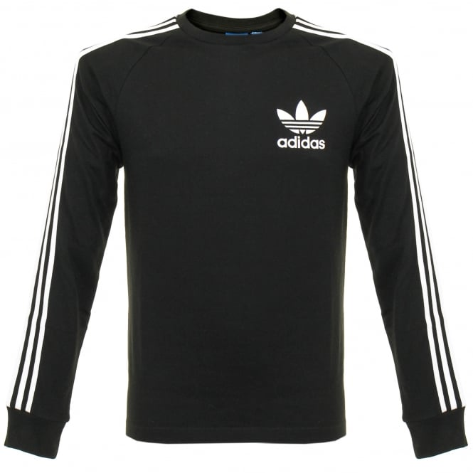 Adidas Originals Adidas CLFN LS Black T-Shirt BK5864