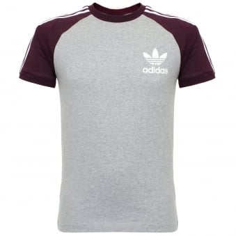 Adidas Essentials California Medium Grey T-Shirt AY8277