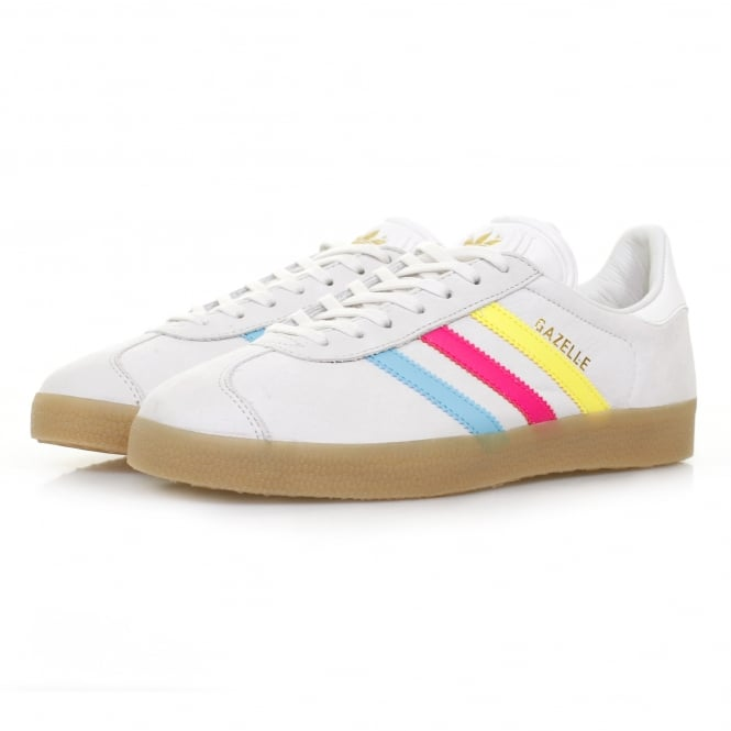 Adidas Originals Adidas Gazelle White Cyan Shoe BB5252