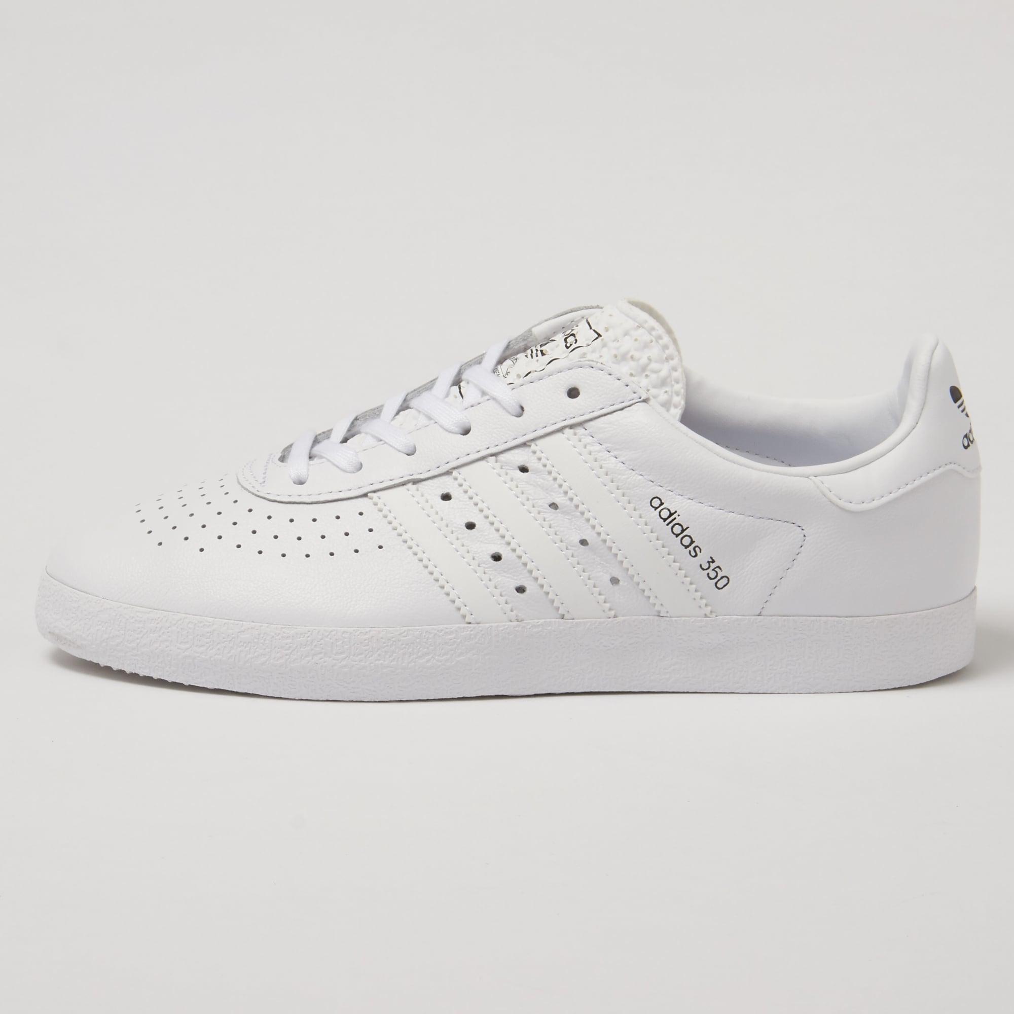 adidas originals 350 sneakers in white