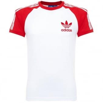 Adidas Originals California Vivid Red T Shirt AZ8130