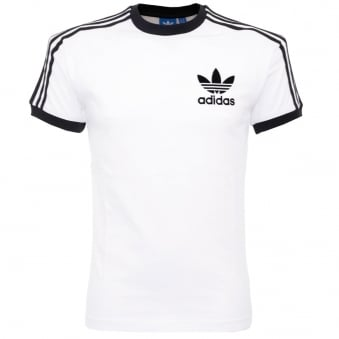 Adidas Originals California White T Shirt AZ812