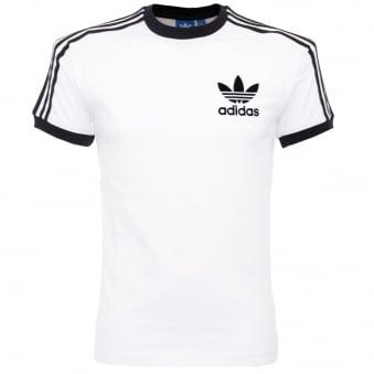 Adidas Originals California White T Shirt AZ812