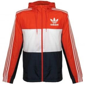 Adidas Originals CLFN Red Windbreaker BK5939