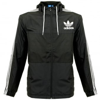 Adidas Originals CLFN WB Black Jacket AY7747