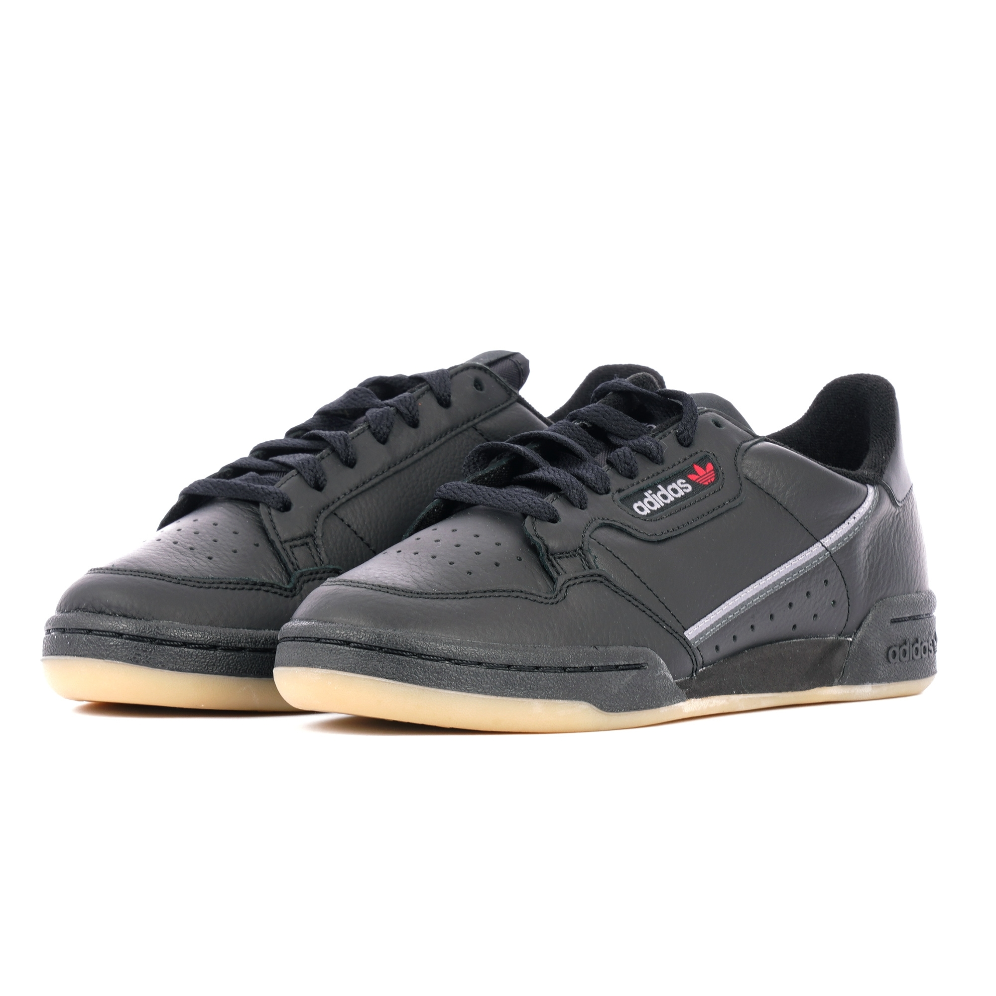 Adidas Originals Continental 80 - Core Black, Grey Three & Gum Three