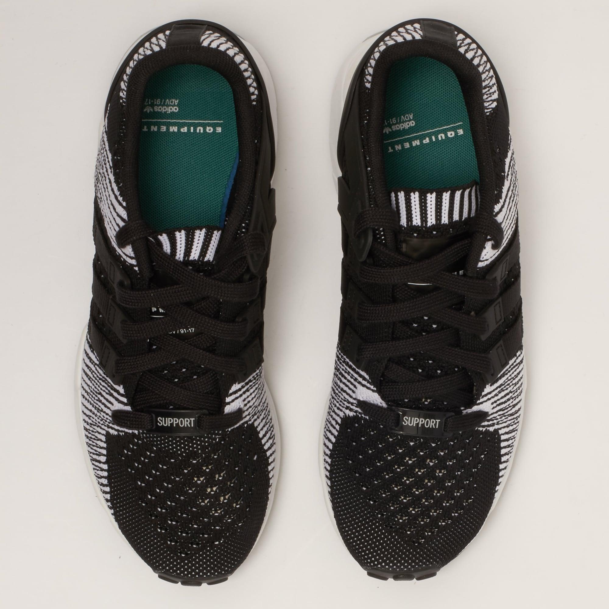 adidas Originals EQT Support RF Primeknit Core Black & FTW White