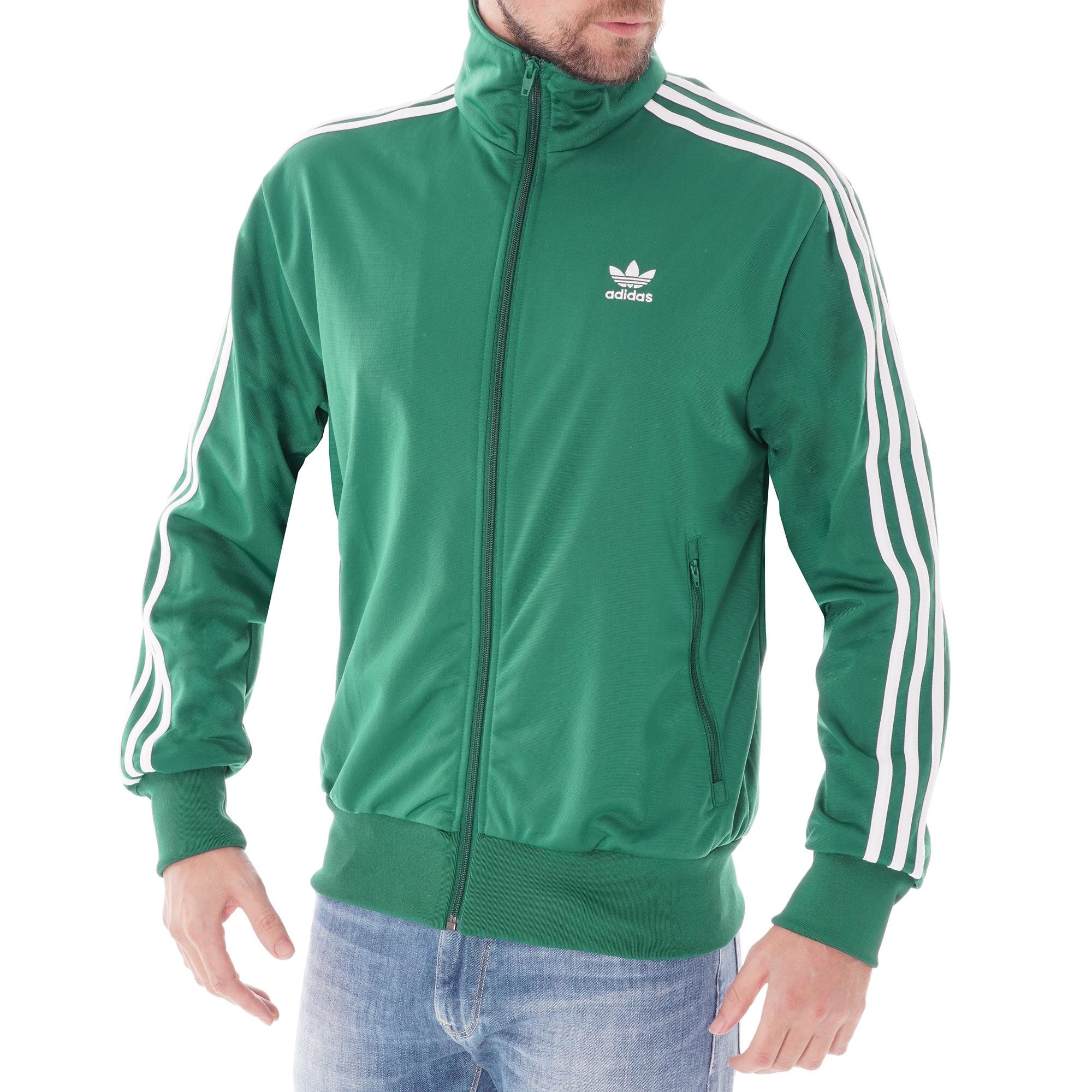 adidas firebird verde