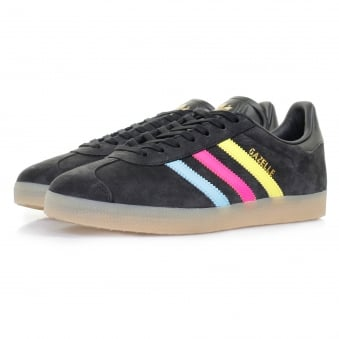 Adidas Originals Gazelle Black Cyan Shoe BB5251