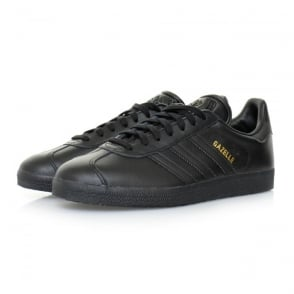 Adidas Originals Gazelle Black Leather Shoes BB5497