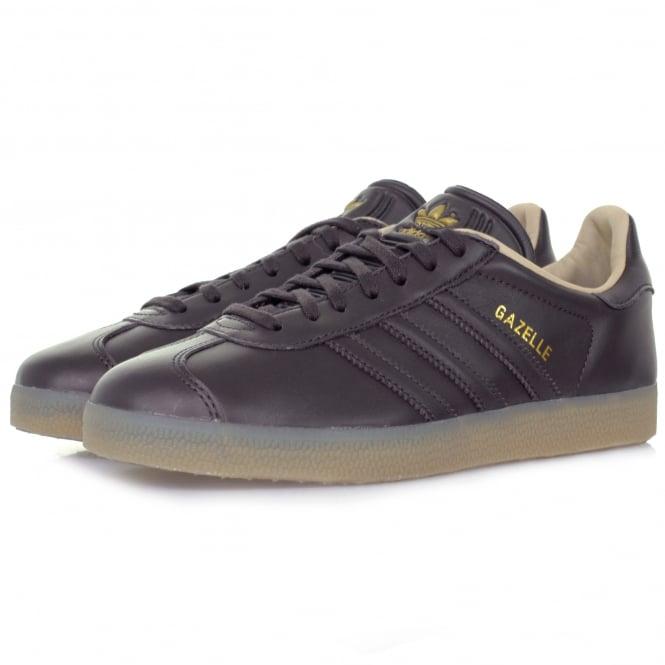 Adidas Originals Adidas Originals Gazelle Dark Grey Leather Shoe BB5504