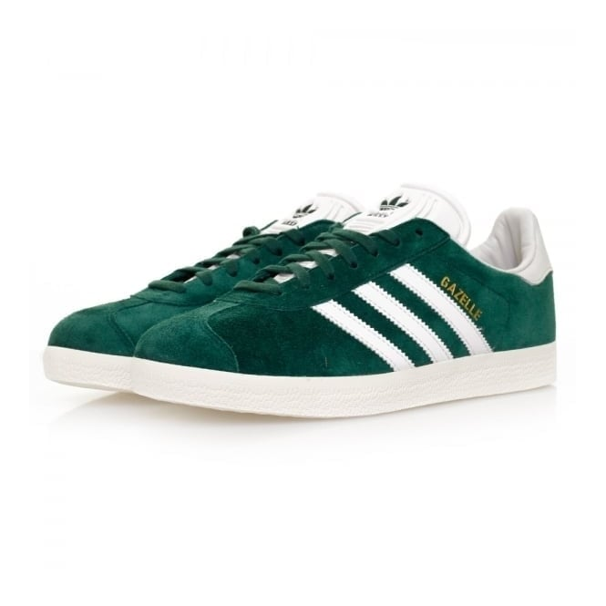 Adidas Originals Adidas Originals Gazelle Green Suede Shoes BB5490