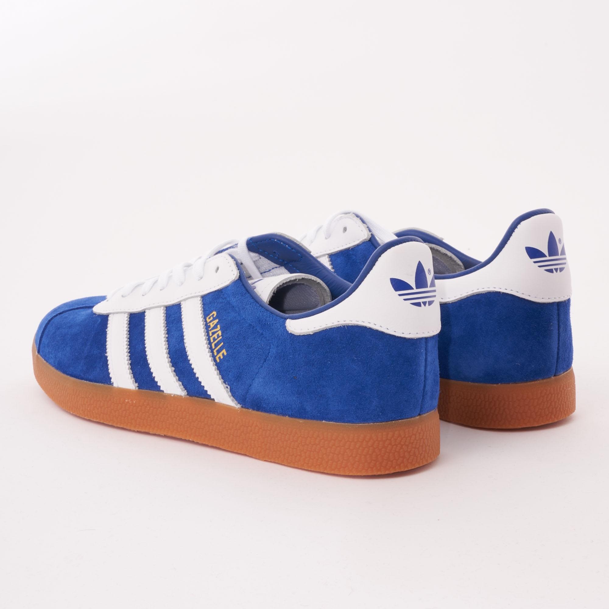 Adidas Originals Gazelle - Royal Blue & FTW White