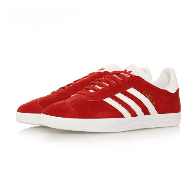 Adidas Originals Adidas Originals Gazelle Scarlet Red Shoes S76228