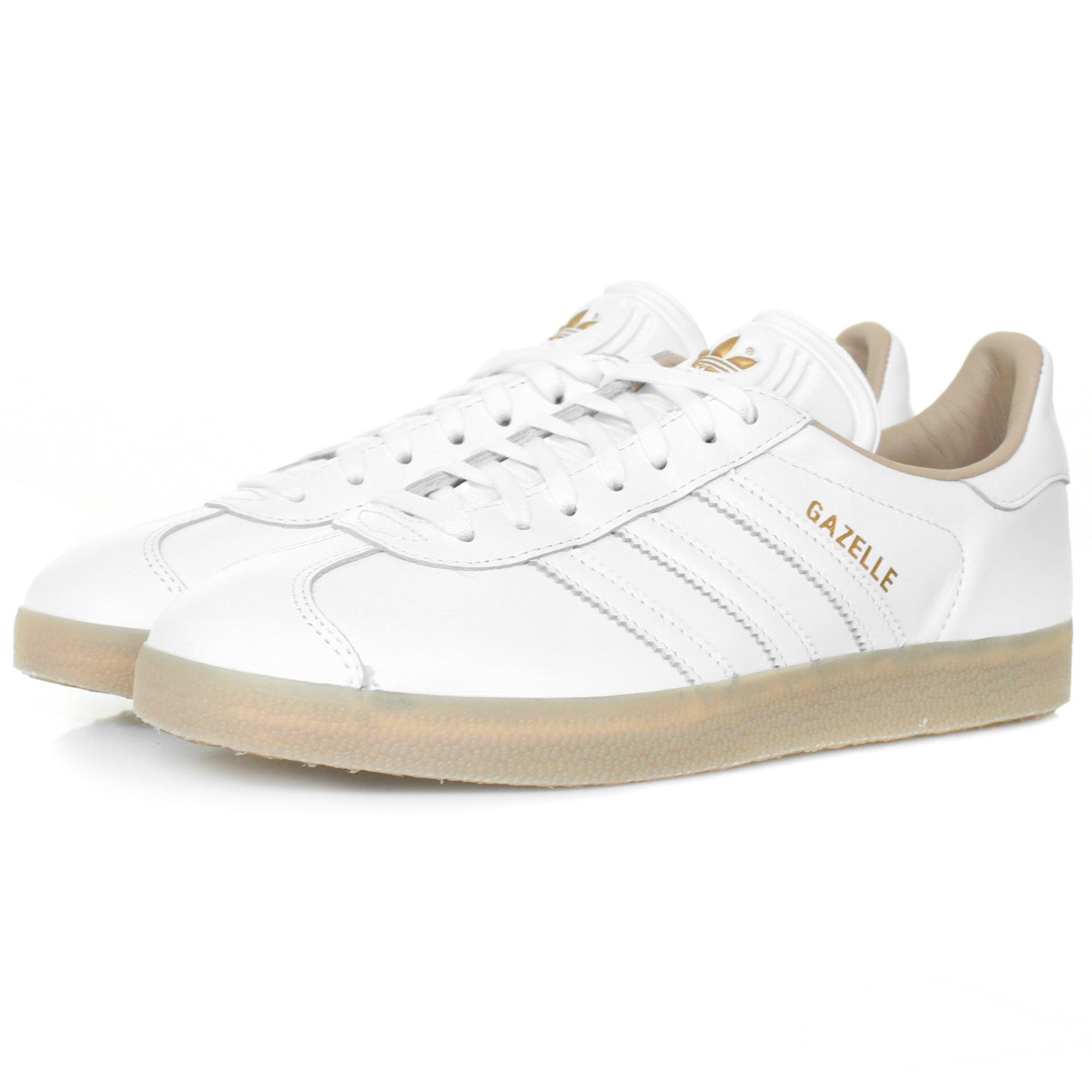 adidas gazelle sneakers white leather shoe