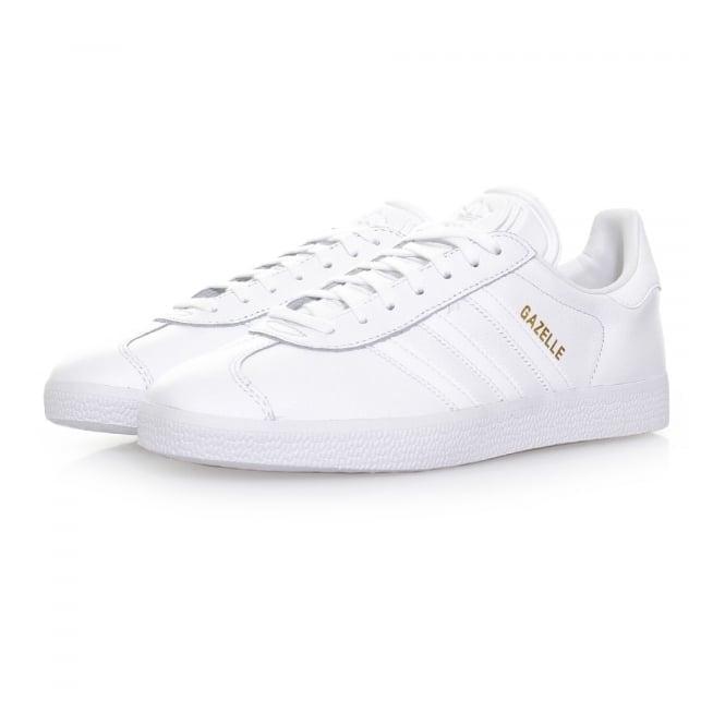 Adidas Originals Adidas Originals Gazelle White Leather Shoes BB5498