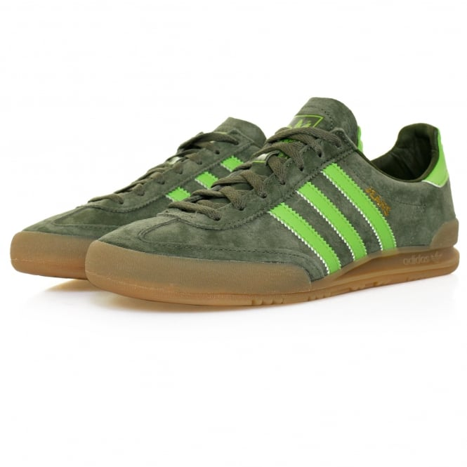 Adidas Originals Jeans Green Suede Shoe S79999