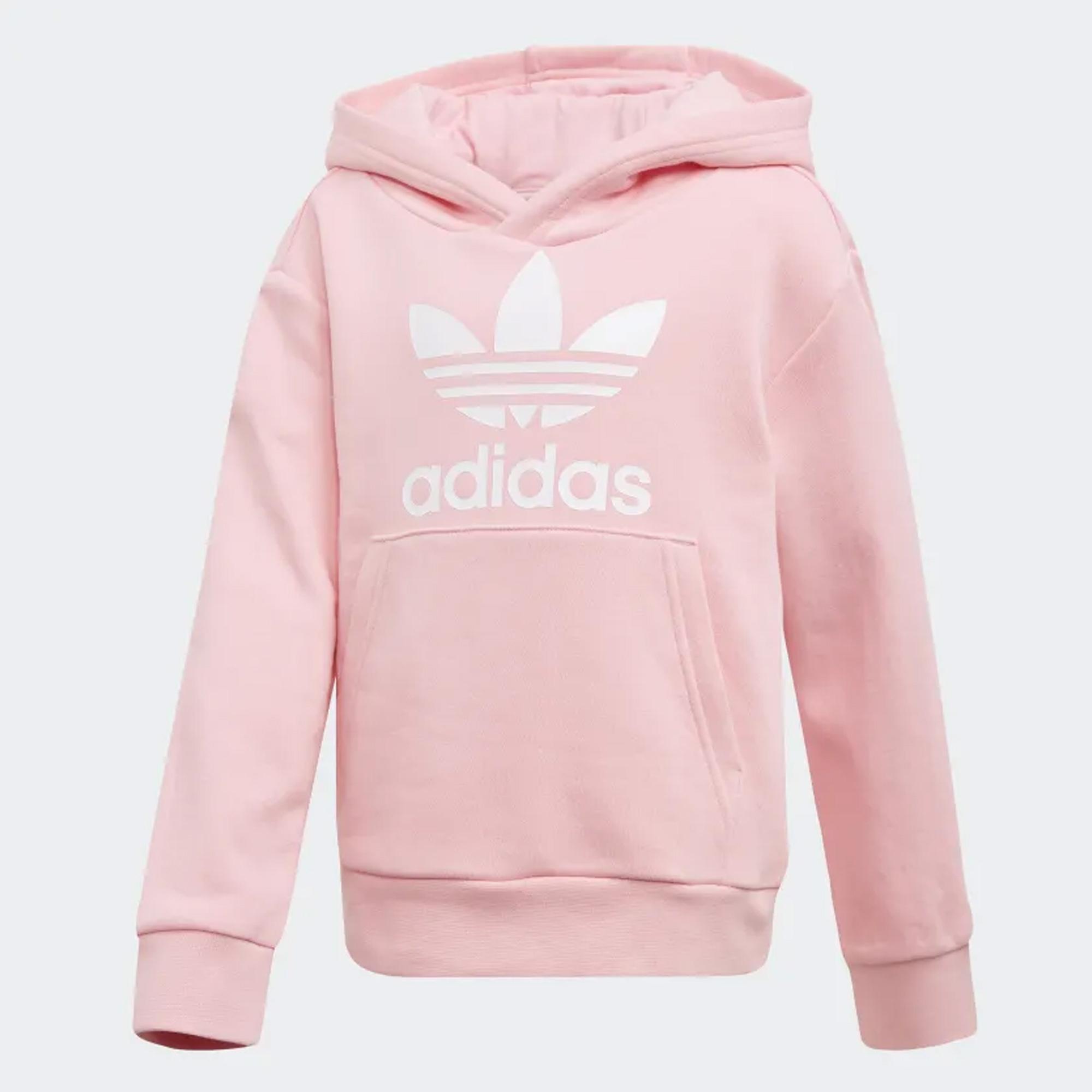 ac78191fbf Trefoil Hoodie Set - Light Pink & White