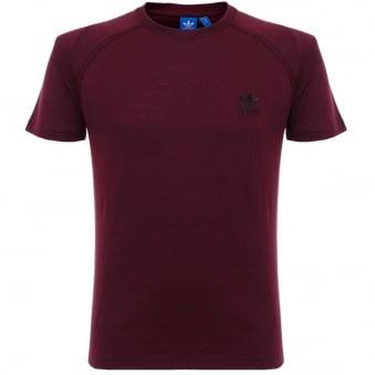 Adidas Originals PT Maroon T-Shirt AZ1610