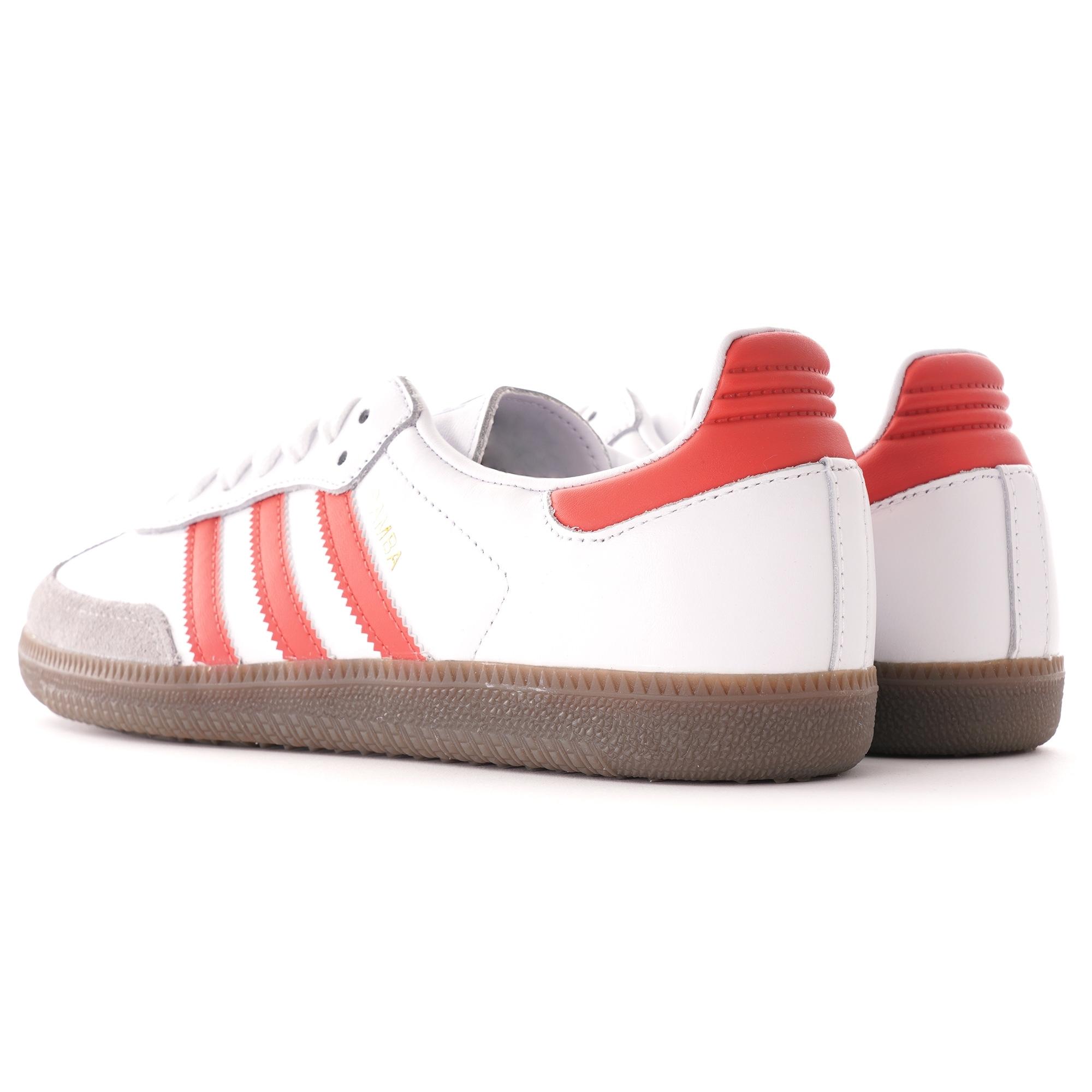 adidas Herren Schuhe Samba OG Cloud WhiteCollegiate Green