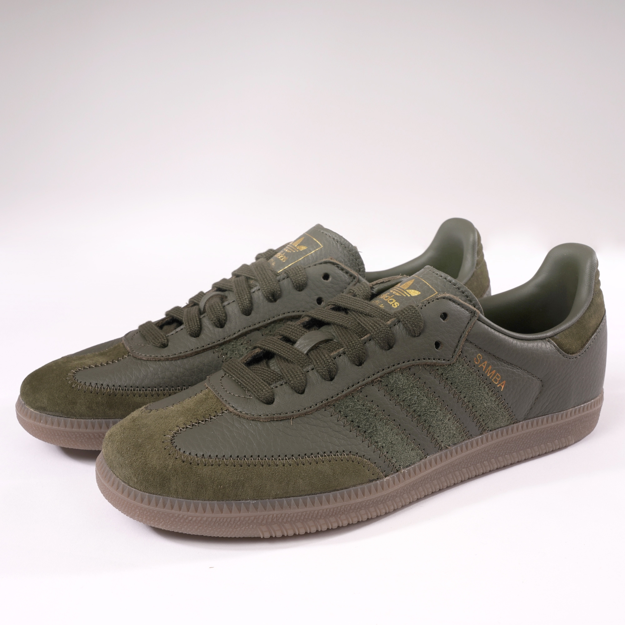 low priced c95b3 1c0d6 Adidas Samba OG FT green