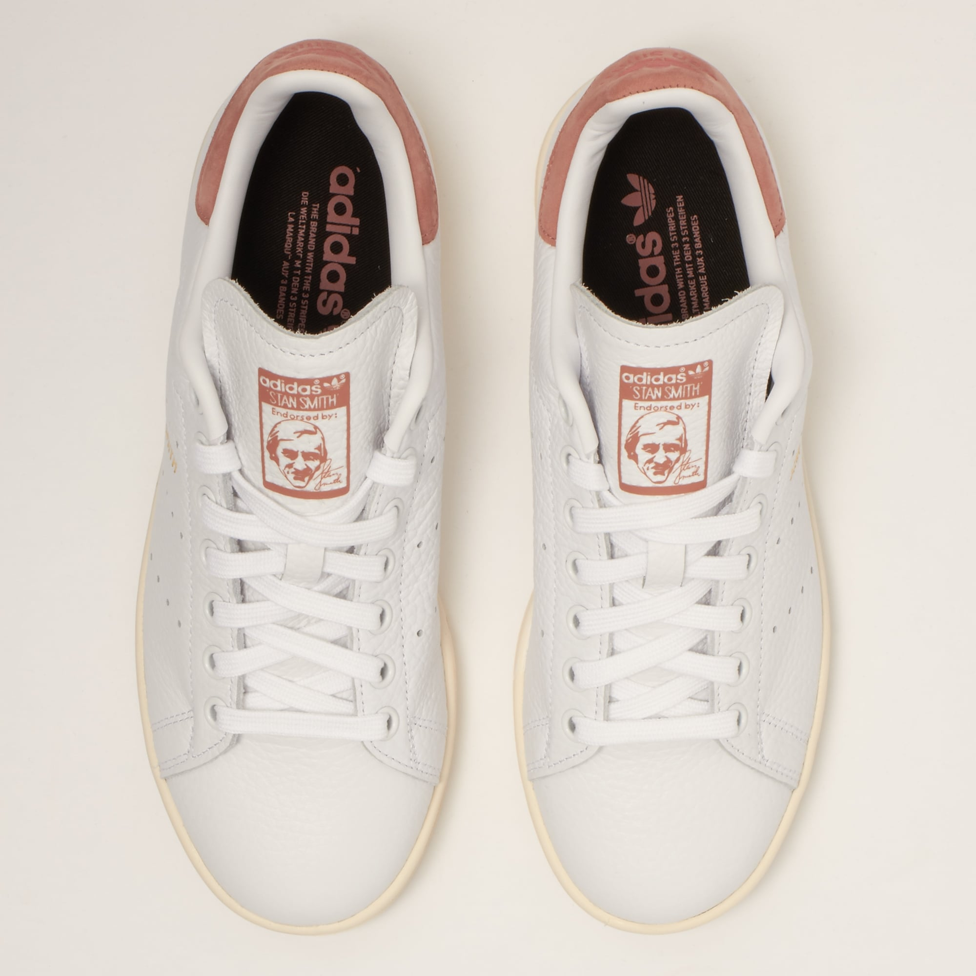 adidas original stan smith white/raw pink