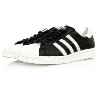 Adidas Originals Superstar 80s Black Shoe BB2232