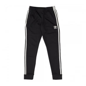 Adidas Originals Superstar Cuffed Black Track Pants AJ6960