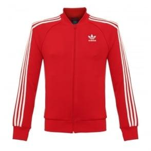 Adidas Originals Superstar Red Track Jacket AY7062