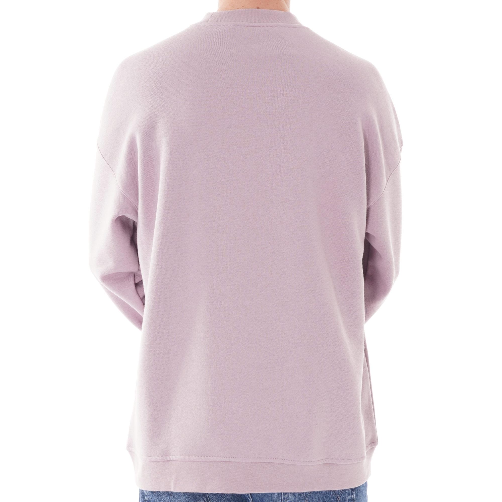 adidas originals tech 3 stripe t shirt lilac