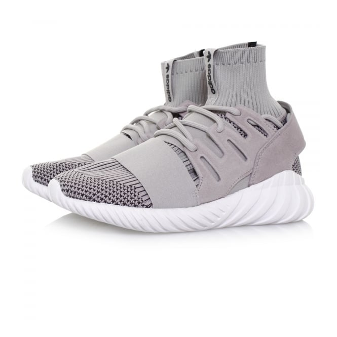 Adidas Originals Adidas Originals Tubular Doom Primeknit Granite Shoes S80102