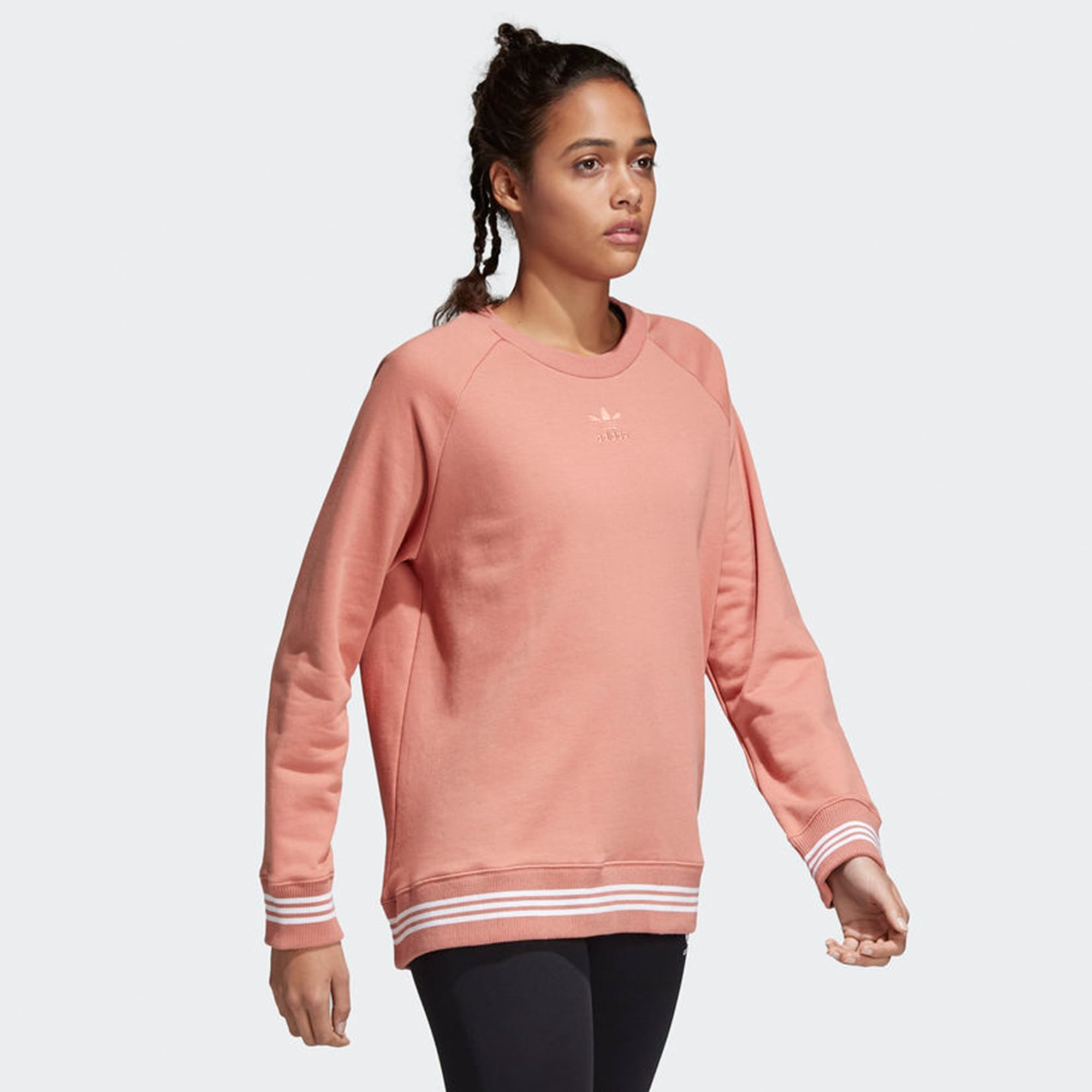 035afd7f7a73a1 Adidas Originals Pink Womens Sweatshirt | US Stockist| CD6903