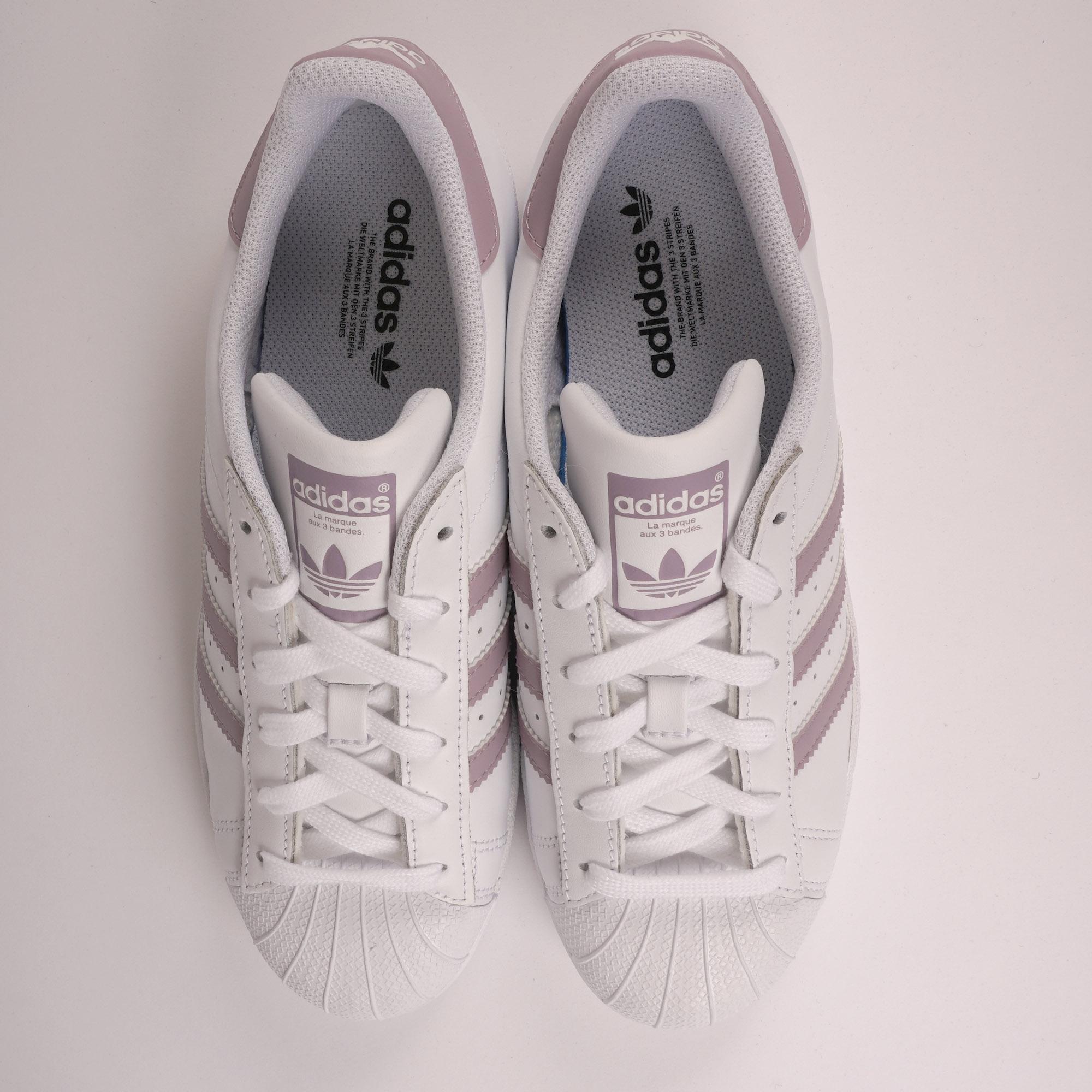 adidas originals superstar rosa streifen