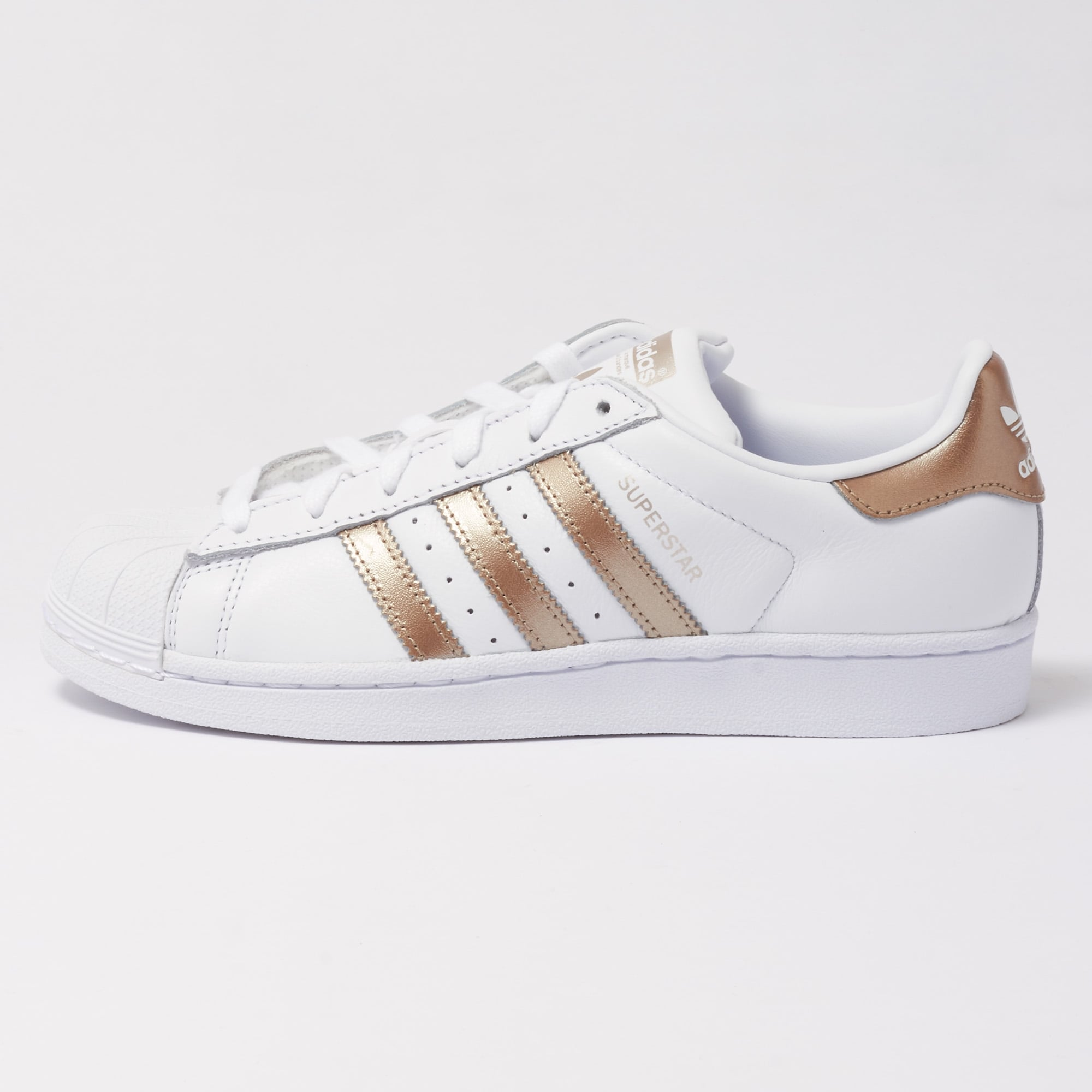 adidas Originals SUPERSTAR - Trainers - footwear white/cyber metallic 4zR5vxtDy