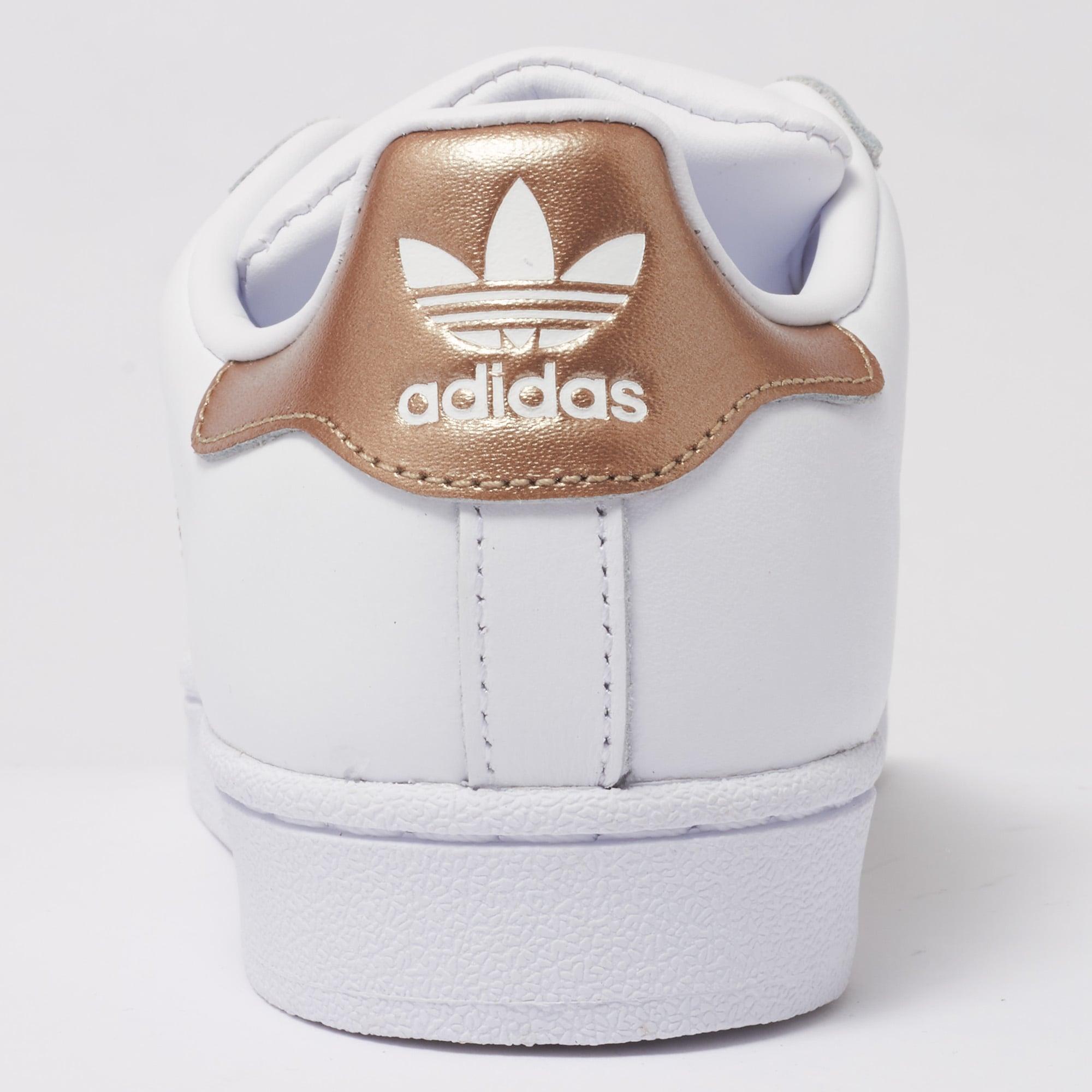 Adidas Originals Womens Womens Superstar Trainers - White & Cyber Metallic