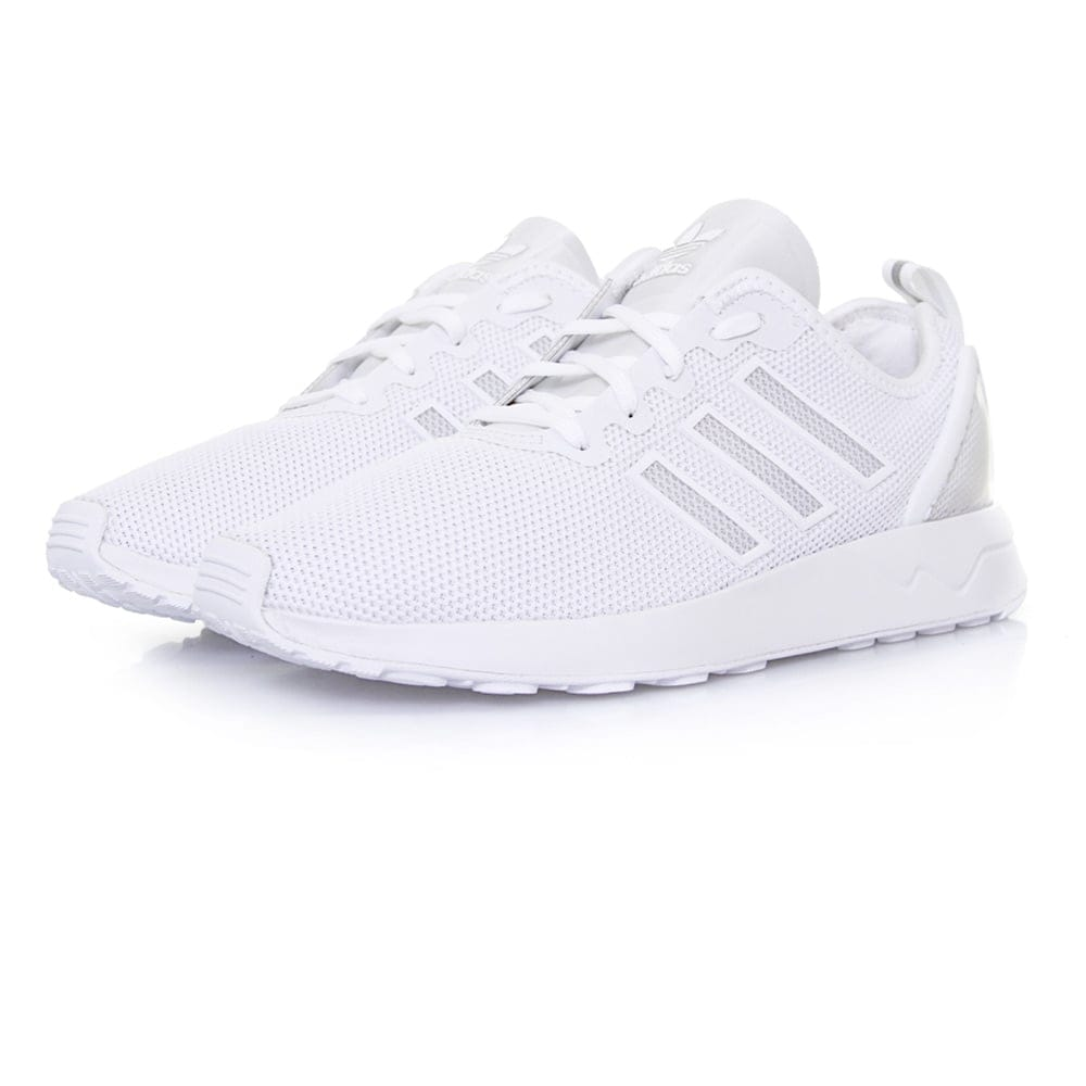 adidas originals zx flux adv white shoes