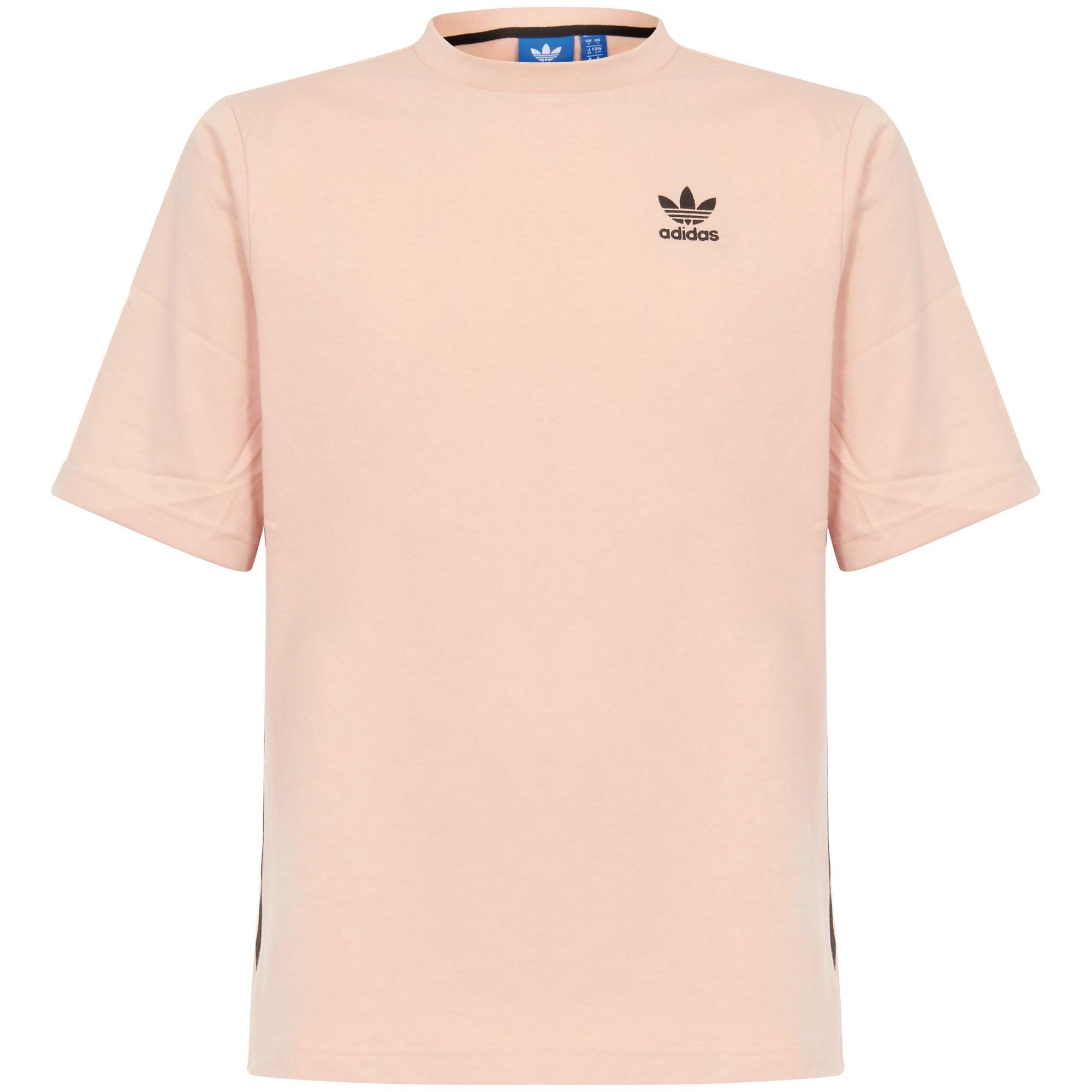 adidas pink polo shirt