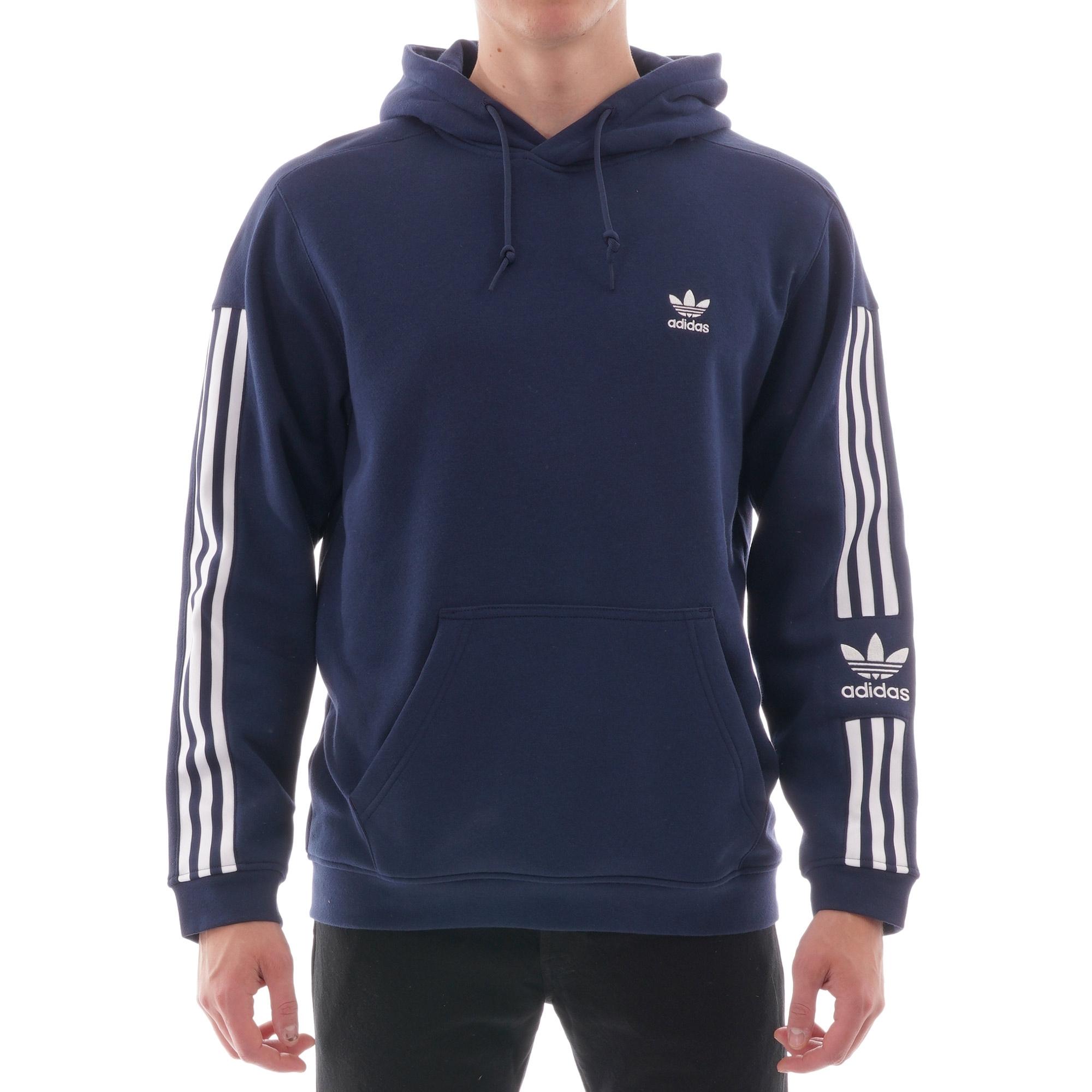 adidas Originals Adidas Tech Hoodie Blue