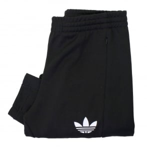 Adidas Trefoil Football Club Black Track Pants AJ7673