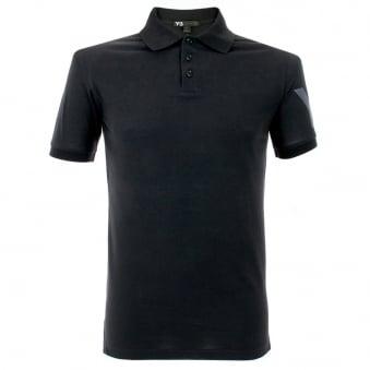 Adidas Y-3 Black Polo Shirt M38479