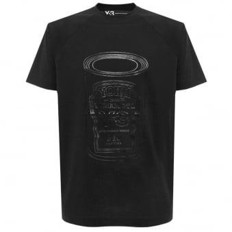 Adidas Y-3 Graphic Shirt 6 Black T-Shirt B47543