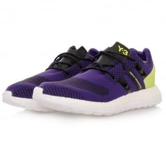 Adidas Y-3 Pure Boost ZG Knit Purple Shoes AQ5730