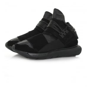 Adidas Y-3 Qasa High Black Leather Shoe BB4733