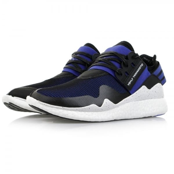 adidas y 3 sneakers retro boost electric blue shoes. Black Bedroom Furniture Sets. Home Design Ideas