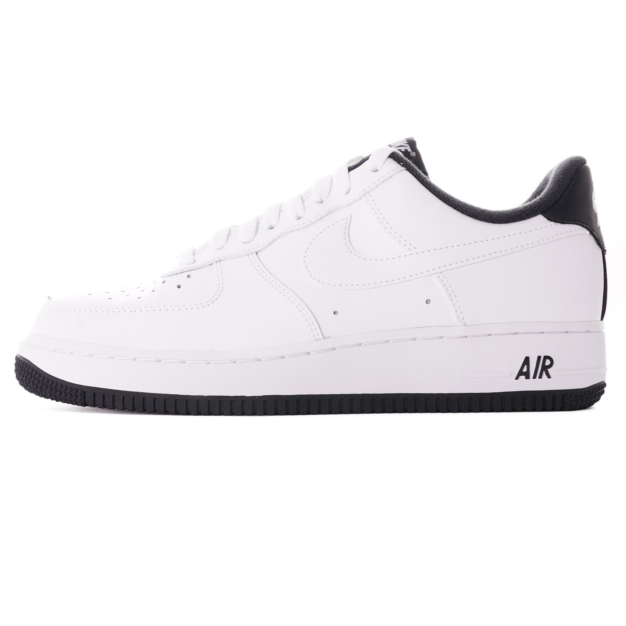 Nike Air Force 1 07 White And Black Cd0884 100