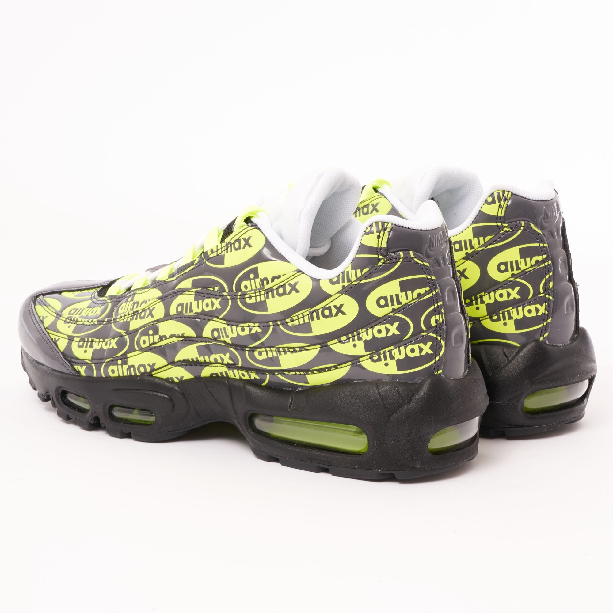 Nike Air Max 95 'BlackVoltAshWhite' 538416 019 Release