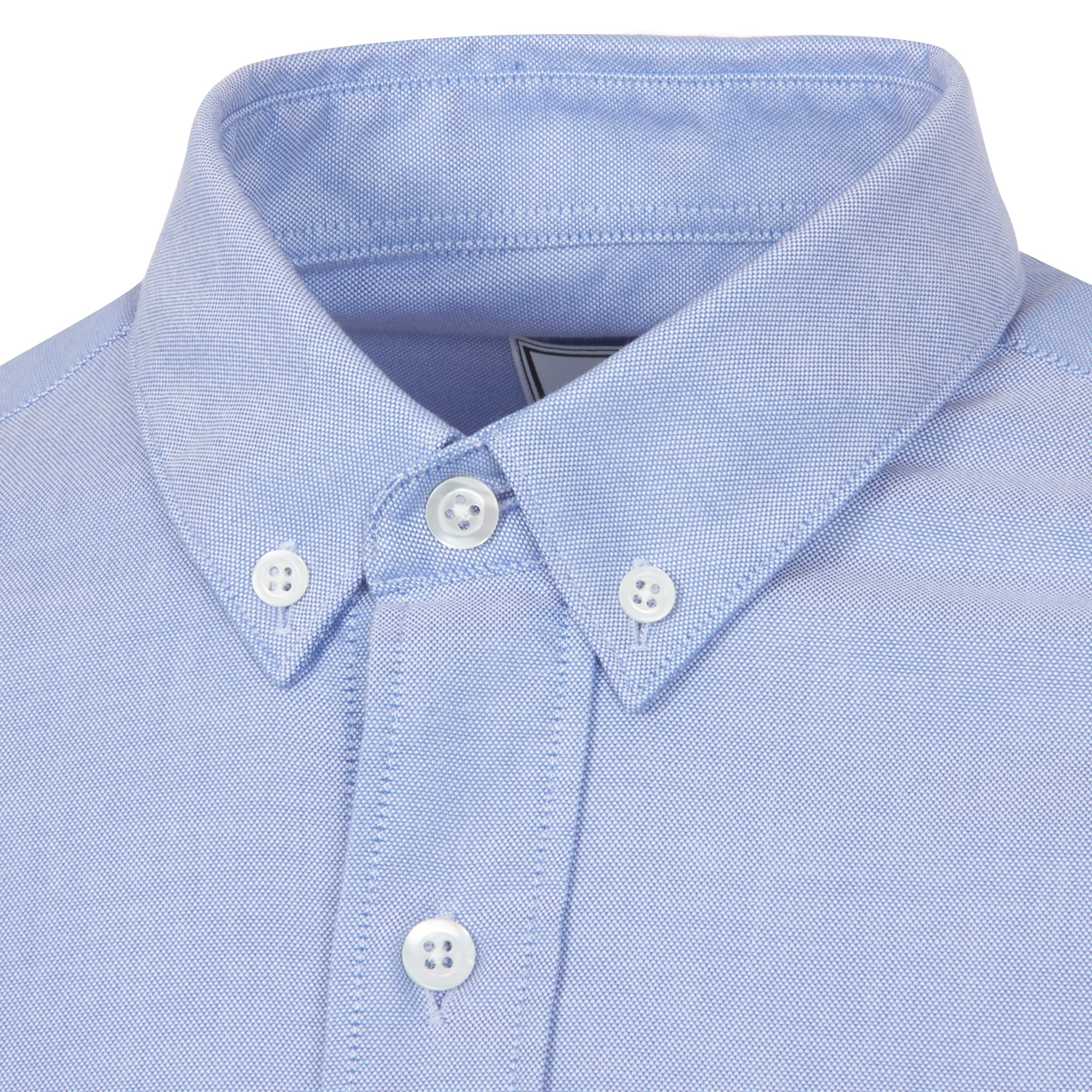 Light Blue Dickies Occupational Workwear SS46LB Polyester//Cotton Mens Button-Down Short Sleeve Oxford Shirt